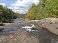 The outflow from Pen Lake is actually part of the Madawaska River.